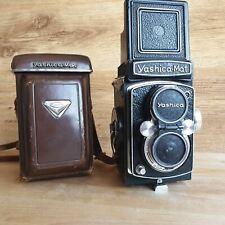 Yashica MAT with Yashinon 80mm f:3.5 TLR 6x6 Medium Format Serviced Camera
