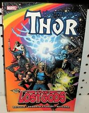 THE MIGHTY THOR - THE LOST GODS TPB - 2011 FIRST PRINTING