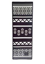 Ananas Non-dérapant Rembourré Surface Fitness Stretching Exercice Yoga Mat Gris