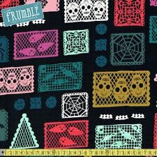 "Skeletons & Skulls Children 45"" Craft Fabrics"