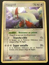 Carte Pokemon MANGRIFF 14/100 Holo Tempête de Sable Bloc EX Française