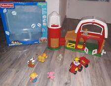 Fisher Price Little People Bauernhof mit Zäunen und Figuren gebraucht Kleinkindspielzeug