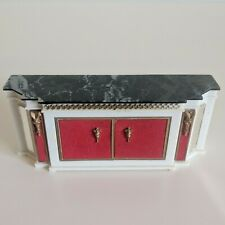 Dollhouse Miniature Victorian Vintage Style Cabinet Armoire Furniture Accessory