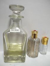 Tea Rose Concentrated Perfume Oil Attar by Surrati perfumes 3ml,6ml,12ml ,36ml