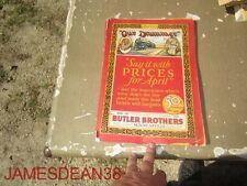 1927 BUTLER BROTHERS MINNEAPOLIS MN CATALOG MINNEAPOLIS MN WHOLESALERS HOUSEHOLD
