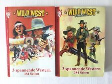 "3 Western Buch Schmöker Lesen Sammeln Kelter Band ""Wildwest-Roman"" Geschenk"