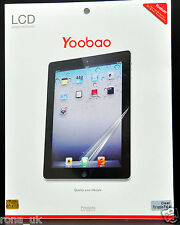 GENUINE Yoobao Quality Screen Protector for iPad Air/iPad 5 _Level 4H_type_Clear