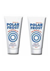 Kühlgel von POLAR FROST, 2 x Tube 150 ml , Kältetherapie, Eisgel, Polarfrost