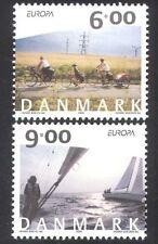 Danimarca 2004 EUROPA/Ciclismo/Moto/Barche/Yacht/Vela/trasporto Set 2v (n39078)
