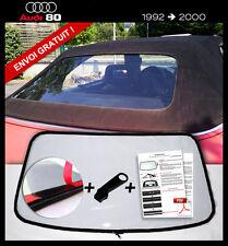 Lunette arrière AUDI 80 Cabriolet CLAIR ORIGINE fermeture éclair envoi gratuit