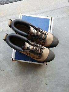 used fly fishing gear - boots and waders
