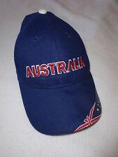 Casquette officielle de l'équipe d'Australie Coupe du Monde de foot 2006 Bleu Ta