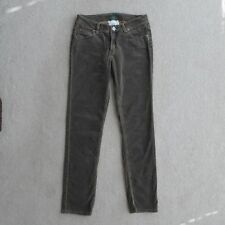 WORN Brand Apparel Brown Corduroy Pants IINK Size 10/30