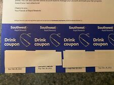Southwest Airlines Drink Coupons 4