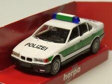 Herpa BMW 325i Polizei BAYERN, grün-weiss - 041768 - 1:87