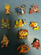 Pokemon Collector Pins pin 10 piece set MEGA Charizard Pikachu Lucario New LOT