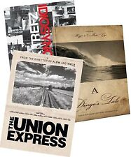 Surfing DVD 3-Pack: Union Express - Idiosyncrasies- A Dingo's Tale - Sports