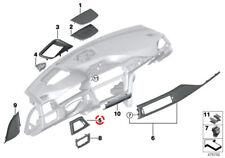 BMW 3' 4' Series F30 F31 Trim I-panel Alu. Hexagonal Driver (Right Hand Drive)