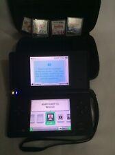 Nintendo DSi bundle, Black Console 4 Cartridges and a Case