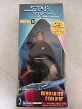 Star Trek Commander Shakotay 10'' Action Figure Sealed Playmates 1997 Collectors