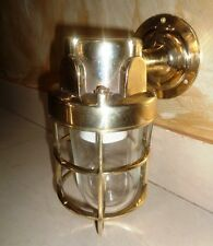 new cast brass bulkhead nautical passage light 1 pcs