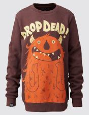 Drop Dead-excité! Crewneck Sweat Shirt-Les gars de petites