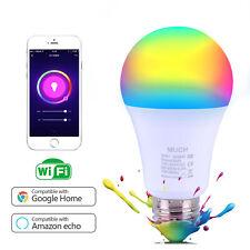 Wifi Smart Multi-Color LED Light Bulb for Amazon Alexa Google App IOS Android