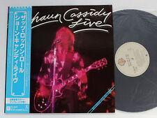 SHAUN CASSIDY Live That's Rock 'N' Roll P-10615W JAPAN LP w/OBI 020az63