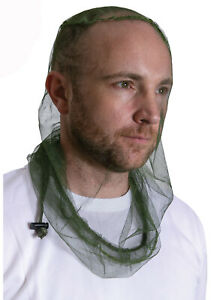 Long Length Mosquito Insects Bugs Headnet Head Net Deluxe Version Rothco 8535