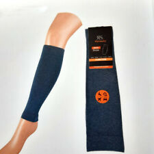 1 Pair Women's Supporting Knee Gauntlets Compression Blue SIZE S/M