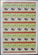 1905 WHITE Steamer Model E Car 50-Stamp Sheet (1985 Vaitupu TUVALU)