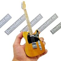 Mini Guitar scale 1:4 BRUCE SPRINGSTEEN telecaster miniature gadget collectible