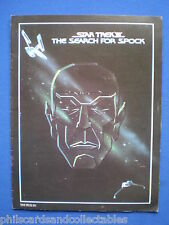 Star Trek III The Search for Spock Cinema Brochure 1984  Excellent