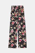 Zara Floral Print Trousers Size SMALL BNWT