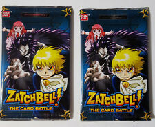 Zatch Bell CCG Booster Packs Blue Series 1 (2005) (2 packs per lot) - SEALED