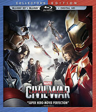 Captain America: Civil War [New Blu-ray 3D] Ac-3/Dolby Digital, Dolby, Dubbed,