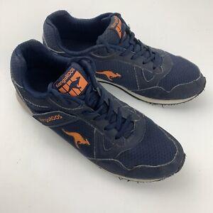 Kangaroos Sneakers Running Men's Shoes Size 12 Blue Orange 164260