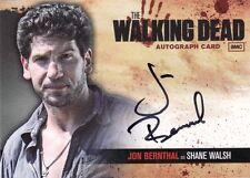 Walking Dead Season 1 John Bernthal as Shane Walsh A2 Auto Card