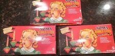 Lot of 3 Noma Nostalgia Series Bubble Lite String of Christmas Lights Vtg style