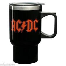 AC/DC ACDC Acca Dacca Band Logo 400ml Handled Travel Coffee Latte Mug