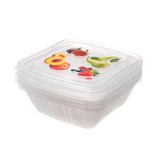 CHIPIE ensemble de 3 aliments frais conteneurs-Plastique fruit & Salade Box/Gard...