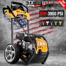 Petrol Pressure Washer - 3950PSI / 272BAR - Power Jet Cleaner - WILKS USA TX750