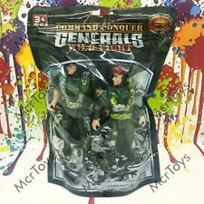 Kids Action Figure Command Conquer Generals Wild Fight Army Soldiers