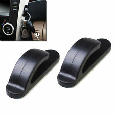 1PAIR AUTO CAR TRUCK CONVENIENT BAG KEY PURSE HOLDER HANGER PLASTIC HOOK BLACK