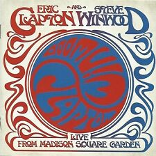 ERIC CLAPTON AND STEVE WINWOOD / LIVE FROM MADISON SQUARE GARDEN * NEW 2CD'S