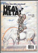 Heavy metal Magazine Vol 9 #7 October 1985 Altuna Jodorowsky Cuti FN 1977 series