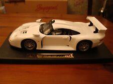 1/18 Porsche 911 GT1 Coupe Rare Glacier White New