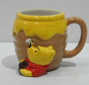 Silver Buffalo Disney Winnie-The-Pooh Honey Pot Ceramic Coffee 3D Sculpted Mug