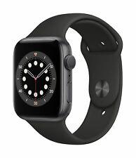 Apple Watch Series 6 GPS 44mm Aluminiumgehäuse Space Grau Sportarmband M00H3FD/A