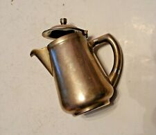 Metal Coffee Pot WMF with Lid. Made in Germany.